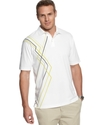 Golf Shirt, Golf Energy 3-Color Stripe Polo Shirt
