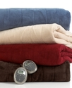 Blankets, Channeled Microplush Heated Full Blanket