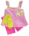 Kids Set, Little Girls Tank, Shorts, and Jelly San