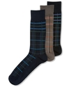 Men's Socks, Plaid Single Pack