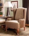 Slipcovers, Stretch Stripe Wing Chair Cover Beddin