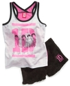 Kids Set, Girls One Direction Two-Piece Pajamas