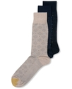 Men's Socks, Multi Diamond Neat Single Pack