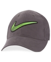 Kids Hat, Little Boys Rubber Weld Swoosh Cap