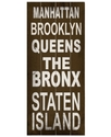 Wall Art, Manhattan Transit Sign