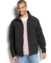 Coat, Lightweight Softshell Zip Front Jacket
