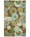 Area Rug, Indoor/Outdoor Promenade Disco Driftwood
