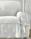 Slipcovers, Matelasse Damask 1-Piece Sofa Bedding