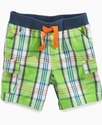 Baby Shorts, Baby Boys Plaid Shorts