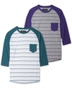 Shirt, Pocket Raglan T-Shirt