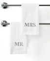 Avanti Bath Towels, Mr. & Mrs. 11   x 18   Fingert
