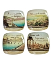 Dinnerware, Set of 4 Italian Inspirations Wine Gla