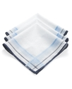Handkerchiefs, 3 Pack Handkerchief Box Set