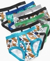 Scooby Doo Kids Underwear, Little Boys 7 Pack Brie