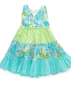 Baby Dress, Baby Girls Triple-Tiered Halter Sundre