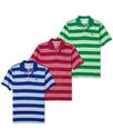 Shirt, Feeder Stripe Varsity Polo