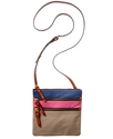 Handbag, Colorblock North South Triple Zip Crossbo