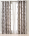 Elrene Window Treatments, Latique 52   x 84   Pane