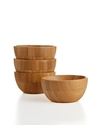 Bamboo Pinch Bowls