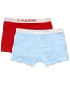 Kids Underwear, Boys 2-Pack Knit Trunks