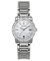 Watch, Women&#39;s Stainless Steel Bracelet 26mm 96R10