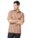Shirt, Short Sleeve Havana Faux Linen Shirt