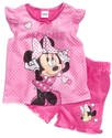 Kids Set, Toddler Girls Minnie Mouse 2-Piece Pajam
