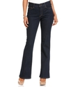 NYDJ, Sarah Stretch Bootcut Jeans, Blue Black Wash