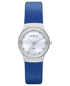 Watch, Women&#39;s Blue Leather Strap 26mm SKW2020