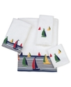Avanti Bath Towels, Regatta 13   Square Washcloth