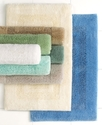 Martha Stewart Collection Bath Rug, Plush Squares