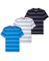 RED T-Shirts, Slim-Fit Fashion Heather Wide-Stripe