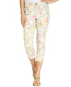 Petite Jeans, Slim-Fit Capri, Ismir Bloom Print