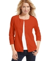 Cardigan, Long-Sleeve Cotton