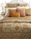 Bedding, Northern Cape Foulard Rust Queen Fitted S
