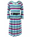 Kids Dress, Little Girls Stripe Dress