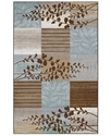 Dalyn Area Rug, Monterey MR304 Chocolate 4'11   x