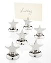 Place Card Holders, Set of 6 Star