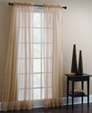 Croscill Window Treatments, Sheer Mist Panel 40   