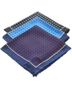 Pocket Square, Silk Dot