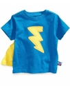 Kids T-Shirt, Little Boys Sesame Street Lightning