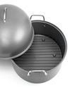 Covered Oval Roaster, Carbon Steel