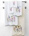 Avanti Bath Towels, Premier Country Floral 13   Sq