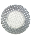Serveware, Silver Weave Glittered Charger Plate