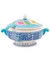 Dinnerware, Courtyard Tureen with Ladle