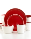 Dinnerware, Cherry Color Burst 16 Piece Set