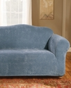 Slipcovers, Stretch Royal Diamond Loveseat Cover B