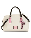 GUESS Handbag, Leandra Box Satchel