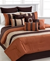 Elston 12 Piece California King Comforter Set Bedd