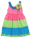 Baby Dress, Baby Girls Color-Blocked Butterfly Dre